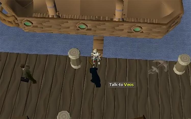 OSRS Client of Kourend Quest gameplay screenshot