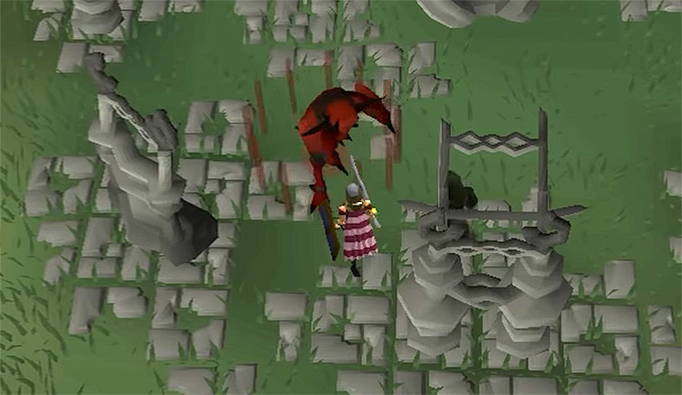 OSRS Demon Slayer Quest gameplay screenshot