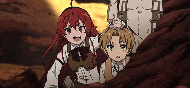 Mushoku Tensei Screenshot / Rudeus and Eris
