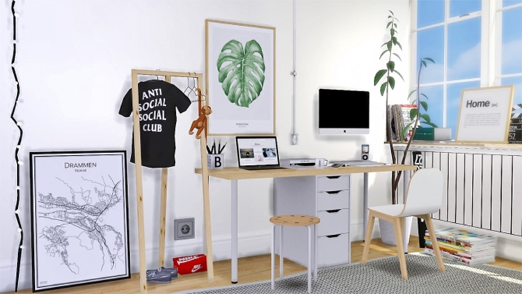 Office Deco Set for The Sims 4