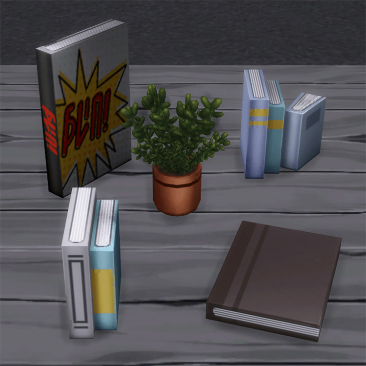 Edgier Office Clutter for The Sims 4