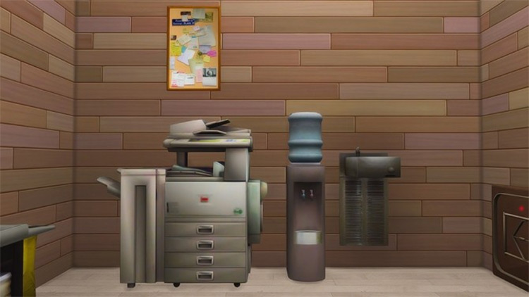 Maxis-Match Office Clutter for The Sims 4