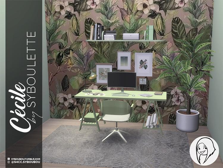 Cecile Office Set TS4 CC
