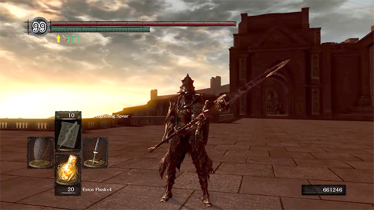 DS1 Remastered Dragonslayer Spear gameplay screenshot