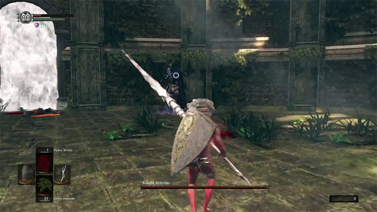 DS1 Remastered Demon's Spear gameplay screenshot