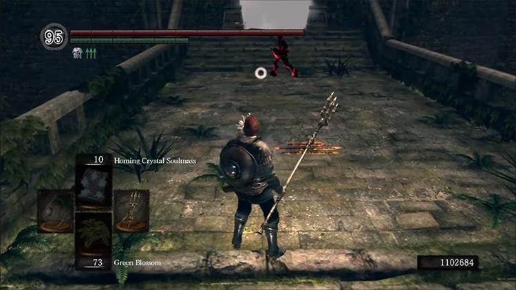 DS1 Remastered Channeler's Trident gameplay screenshot