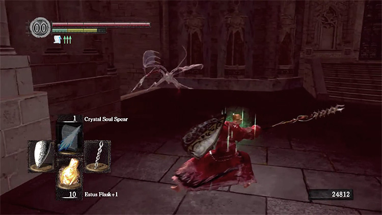DS1 Remastered Moonlight Butterfly Horn gameplay screenshot