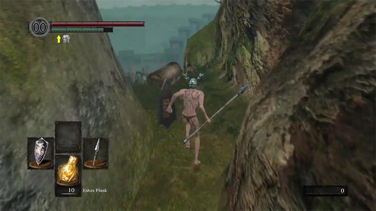 DS1 Remastered Partizan gameplay screenshot