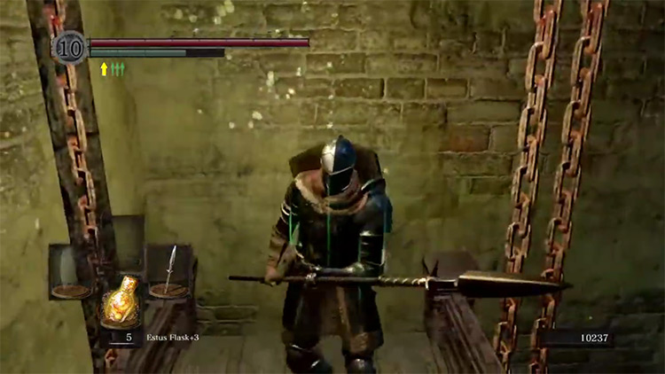 DS1 Remastered Winged Spear gameplay screenshot