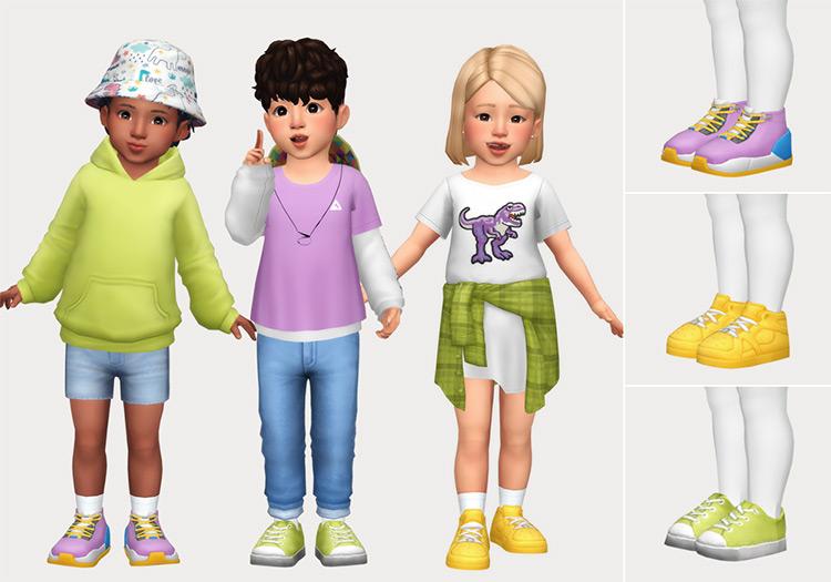 Toddler Shoe Pack Set / TS4 CC
