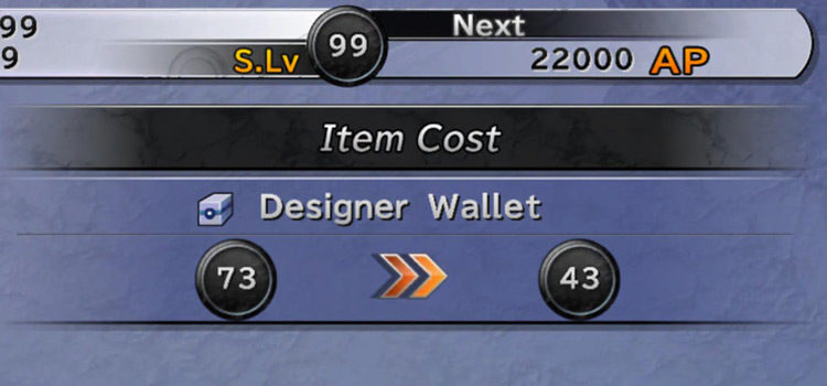 FFX Designer Wallets: Uses & Where To Get Them