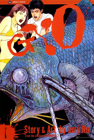Gyo Vol. 1 Cover