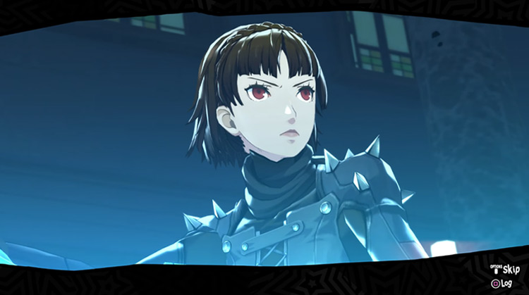 Makoto Nijima Persona 5 game screenshot