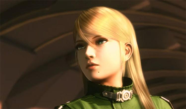 Samus in Metroid game screenshot