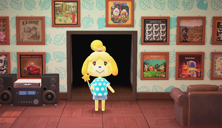 Isabelle from Animal Crossing New Horizons