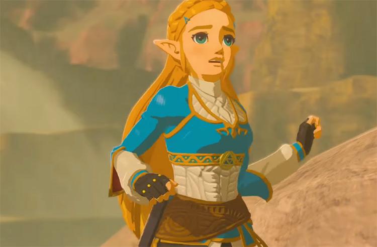 Princess Zelda The Legend of Zelda screenshot