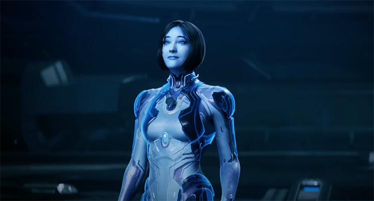 Cortana from Halo game