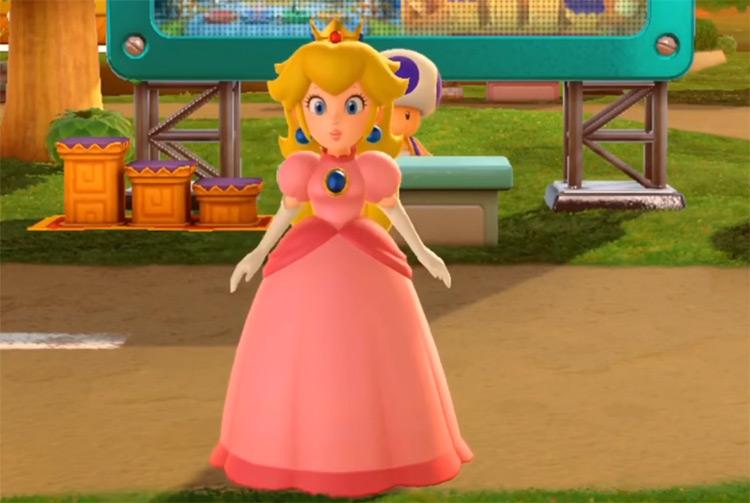 Princess Peach Super Mario Bros. gameplay