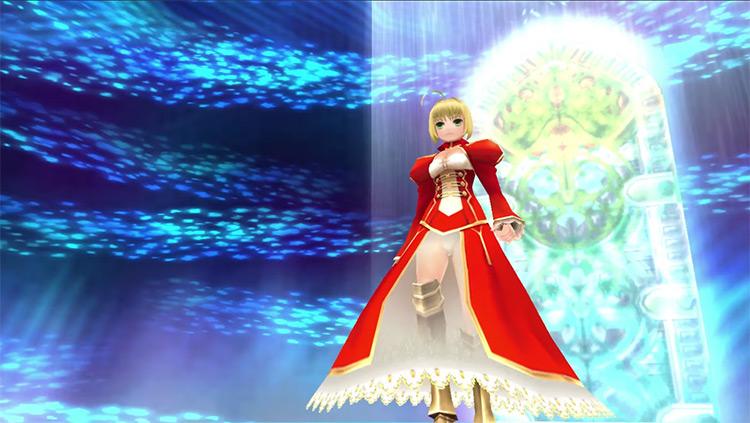 Nero Claudius Fate/Extra gameplay
