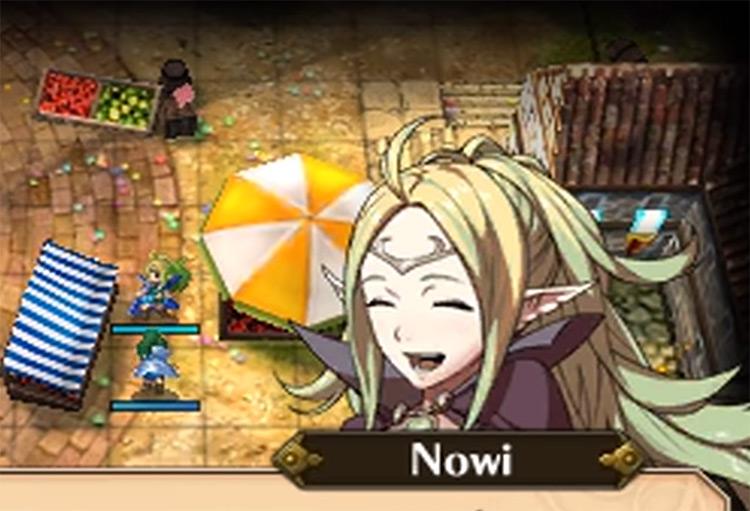 Nowi Fire Emblem Awakening game