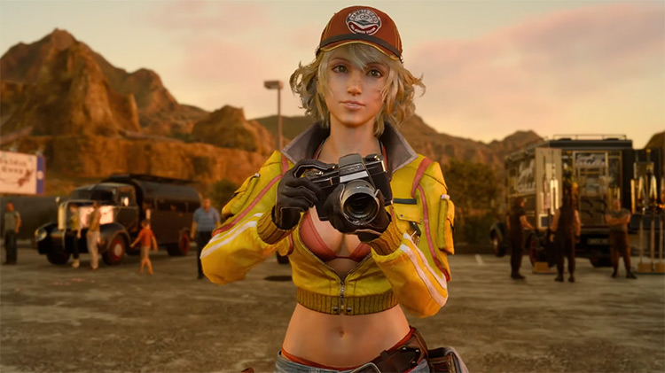 Cindy Aurum in Final Fantasy XV