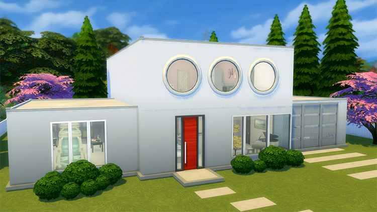Powerpuff Girls House Lot for The Sims 4
