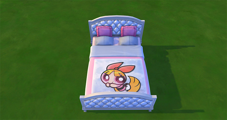 PowerPuff Girls Beds for The Sims 4
