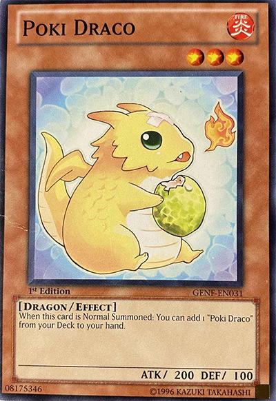 Poki Drago Yu-Gi-Oh! Card