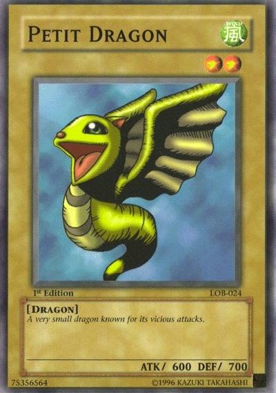 Petit Dragon Yu-Gi-Oh! Card