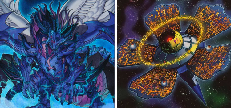 True King Of All Calamities & Dyson Sphere YGO Cards