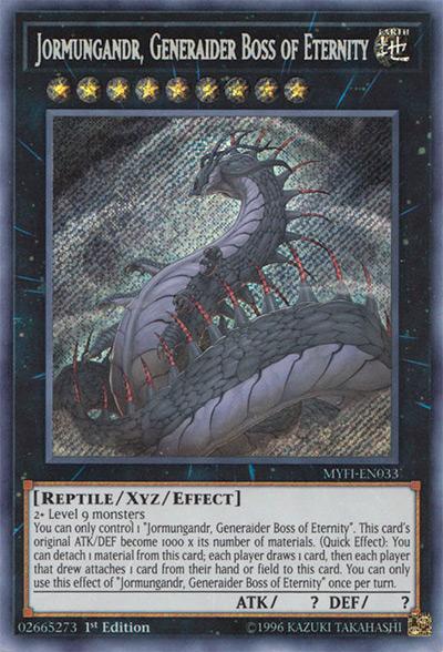 Jormungandr, Generaider Boss of Eternity Yu-Gi-Oh! Card