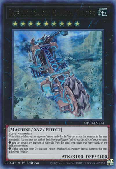 Infinitrack Earth Slicer Yu-Gi-Oh! Card