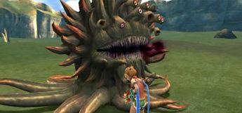 Rikku bribing a marlboro in FFX HD