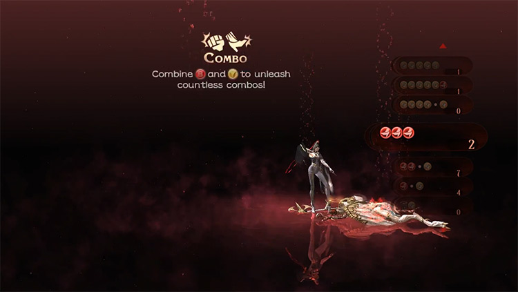 Bayonetta Loading Screen screenshot