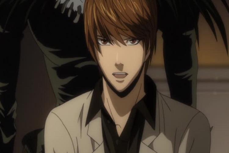 Light Yagami / Death Note anime screenshot