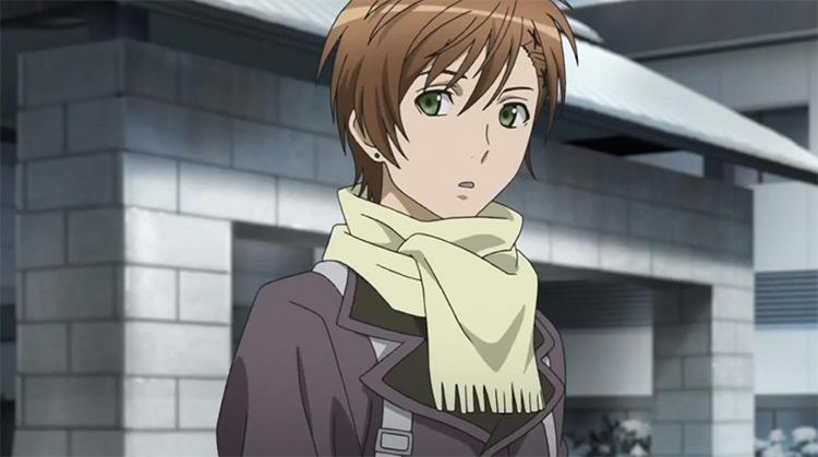 Yoshino Takigawa from Blast of Tempest anime