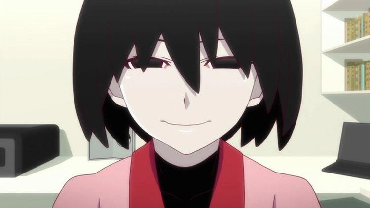 Ougi Oshino from Owarimonogatari anime