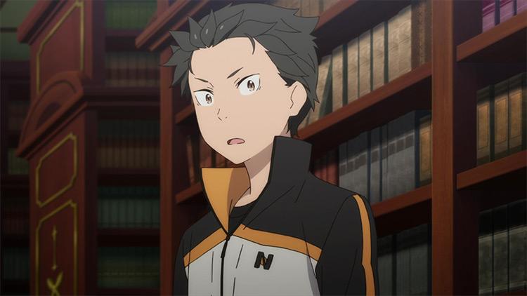 Natsuki Subaru in Re: Zero anime