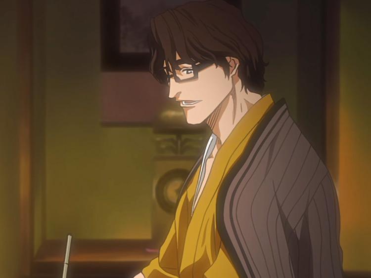 Sosuke Aizen from Bleach anime