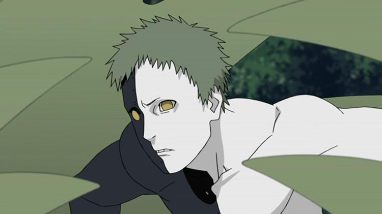 Zetsu from Naruto: Shippuden anime screenshot