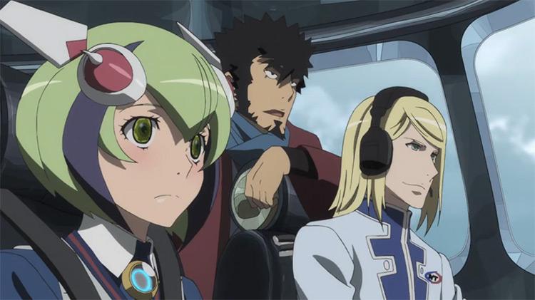 Dimension W anime screenshot