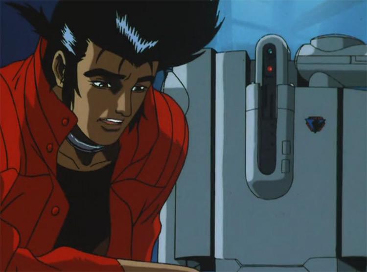 Cyber City Oedo 808 anime