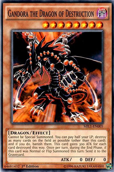 Gandora the Dragon of Destruction Yu-Gi-Oh! Card
