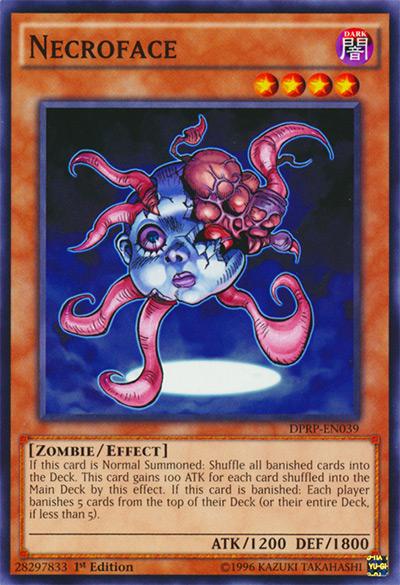 Necroface Yu-Gi-Oh! Card