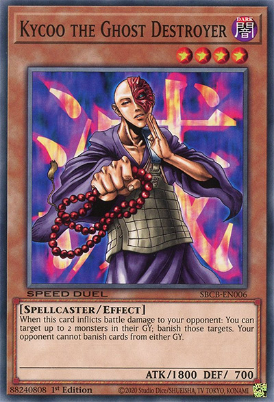 Kycoo the Ghost Destroyer Yu-Gi-Oh! Card