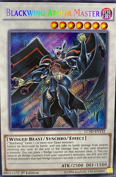 Blackwing Armor Master Yu-Gi-Oh! Card