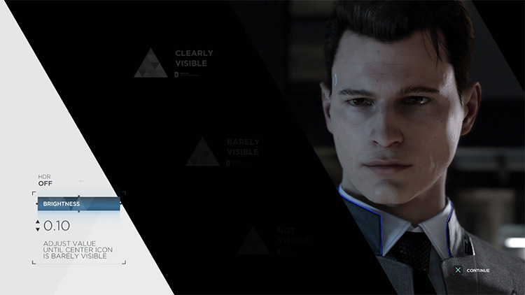 Detroit: Become Human title screen