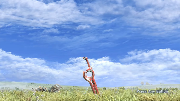 Xenoblade Chronicles (2010) title screen