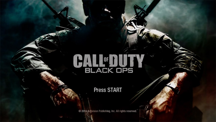Call of Duty: Black Ops Title Screen