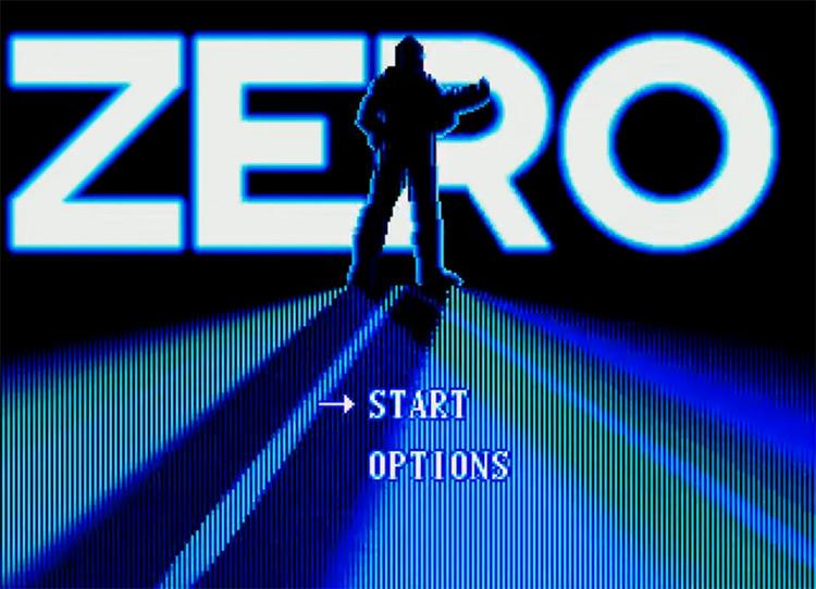 Zero Tolerance (1994) video game title screen